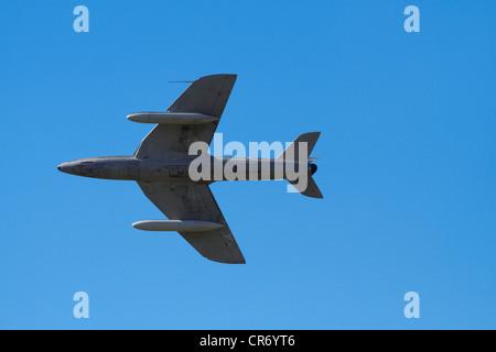 Hawker Hunter jet fighter - Stock Photo