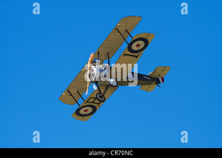Sopwith Camel - WWI Fighter Plane - Stock Photo
