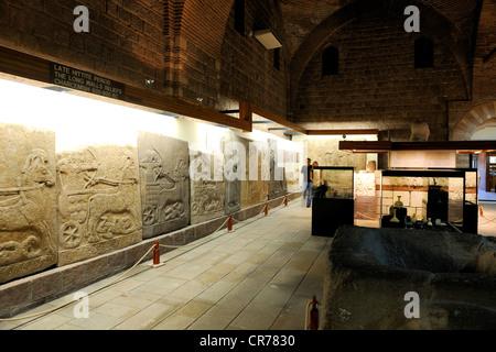 Turkey, Central Anatolia, Ankara, Anadolu Medeniyetleri Muzesi (Museum of Anatolian Civilizations), Hall of the - Stock Photo