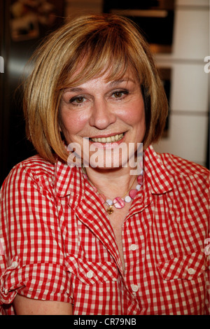 Roos Mary, * 9.1.1949, German musician (singer), portrait, guest in the German TV show 'Lafer!Lichter!Lecker!', - Stock Photo
