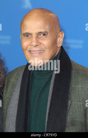 Belafonte, Harry, * 1.3.1927, American musician (singer), actor, portrait, during photo call to 'Sing Your Song', - Stock Photo