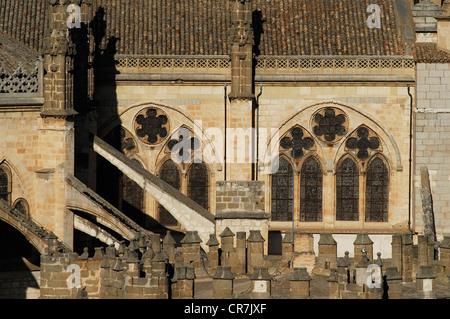 Spain, Castile-La Mancha, Toledo, historic city UNESCO World Heritage, the Primate Cathedral of Saint Mary of Toledo - Stock Photo
