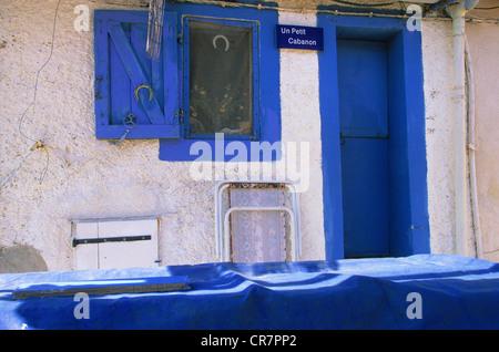 France, Bouches du Rhone, Marseille, european capital of culture 2013, Callelongue, shed - Stock Photo