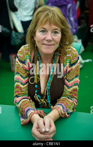 Hannah Rothschild, English writer and director pictured at The Telegraph Hay Festival 2012, Hay-on-Wye, Powys, Wales, - Stock Photo