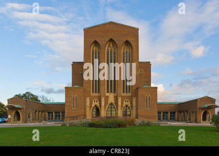 The Cathedral Church of the Holy Spirit, Guildford Cathedral, Guildford, Surrey, England, United Kingdom, Europe - Stock Photo