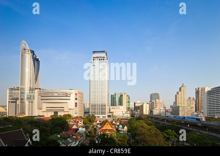 Thailand, Bangkok, Siam square district - Stock Photo