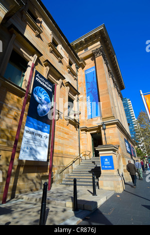 The Australian Museum Entrance, Sydney, New South Wales, Australia - Stock Photo