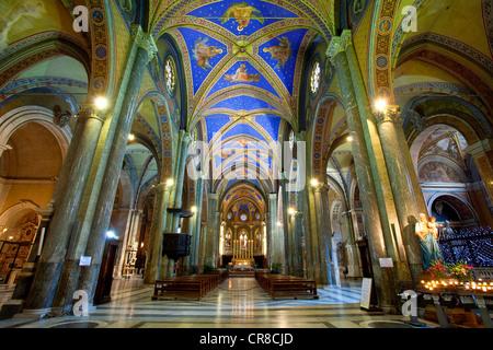 Italy, Lazio, Rome, historical center UNESCO World Heritage, Santa Maria Sopra Minerva church (St Mary on the Minerva) - Stock Photo