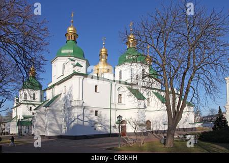 Ukraine. Saint Sophia Cathedral in Kiev - Stock Photo