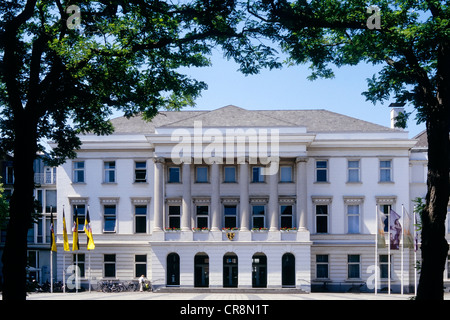 Krefeld city hall, North Rhine-Westphalia, Germany, Europe - Stock Photo