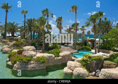 Pool of the Hotel Annabelle in Pafos, Paphos, southern Cyprus - Stock Photo