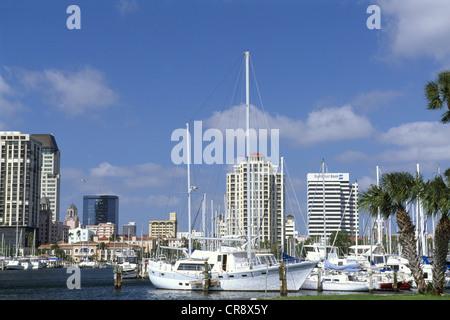 Tampa Bay, St. Petersburg, Florida, USA - Stock Photo