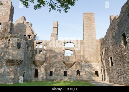 Earl's Palace, Kirkwall, Orkney Isles, Scotland - Stock Photo