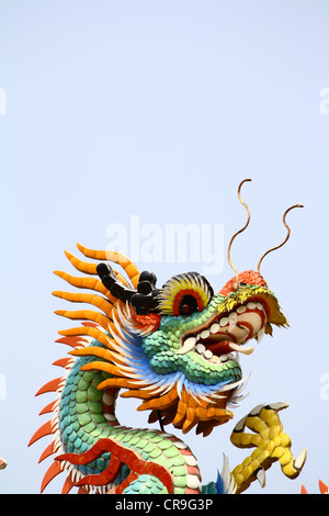 Chinese dragon is a symbol of the Emperor - Stock Photo