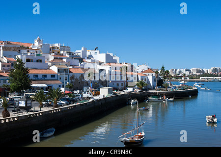 Europe Portugal, Algarve,  Ferragudo harbor - Stock Photo