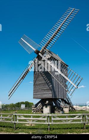 Moulin de Valmy - Stock Photo