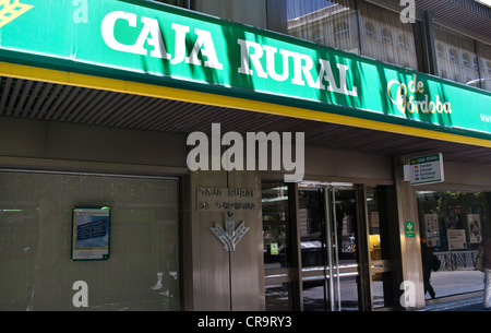 Caja rural bank stock photo 84594469 alamy for Oficinas caja rural cordoba
