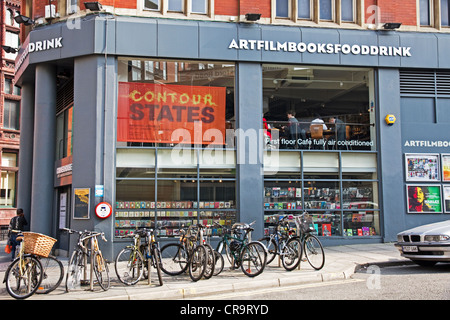 Cornerhouse - centre for contemporary visual arts and independent film, Oxford Road, city centre, Manchester, England, - Stock Photo