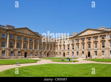Christ Church college Peckwater Quad Oxford University Oxfordshire England UK GB EU Europe - Stock Photo
