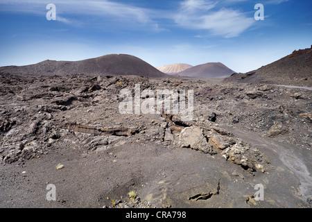 Lanzarote, Timanfaya National Park, Canary Islands, Spain, UNESCO - Stock Photo
