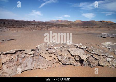 Lanzarote, Timanfaya National Park, Spain, Canary Islands, UNESCO - Stock Photo