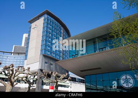 Congress Center, trade fair, exhibition centre, exhibition, Frankfurt, Hesse, Germany, Europe - Stock Photo