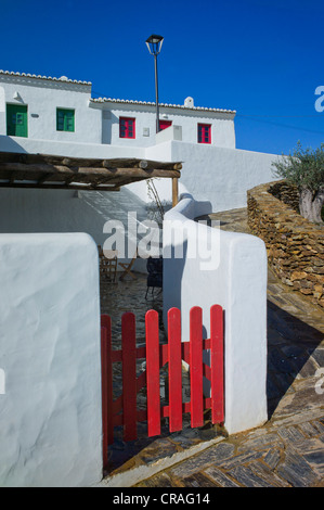 Typical old country village, renovated and converted to hotels, Pedralva, Lagos, Algarve, Portugal, Europe - Stock Photo