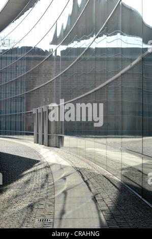 Neues Museum, Klarissenplatz, Nuremberg, Bavaria, Germany, Europe - Stock Photo