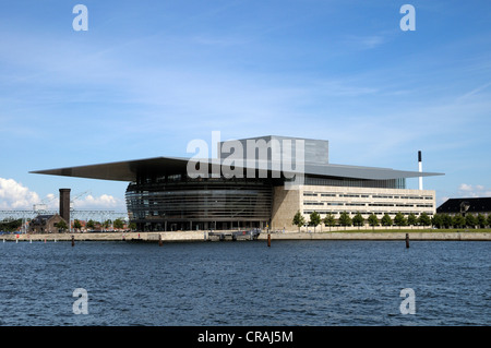 Operaen or Copenhagen Opera House, Copenhagen, Denmark, Scandinavia, Europe, PublicGround - Stock Photo