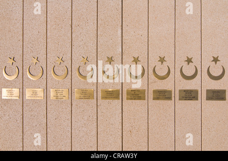 Sahidler Xiyabani, Martyrs' Memorial, Martyrs' Lane, Alley of Martyrs, Kirov Park, Baku, Azerbaijan, Middle East - Stock Photo