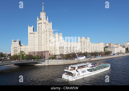 One of Seven Sisters in Moscow, Russia