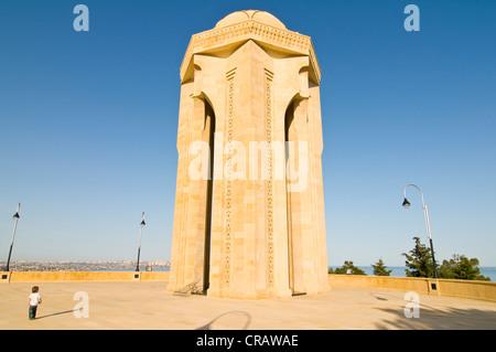 Sahidler Xiyabani, Martyrs' Memorial, Martyrs' Lane, Alley of Martyrs, Kirov Park, Baku, Azerbaijan, Middle East - Stock Photo