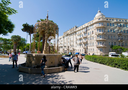 Historic old town, UNESCO World Heritage Site, Baku, Azerbaijan, Caucasus, Middle East - Stock Photo