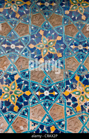 Mosaic, decoration on a mosque in Tbilisi, Georgia, Middle East