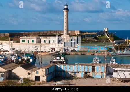 The Port of Cherchell, Algeria, Africa - Stock Photo