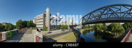 Panorama, German Museum of Technology, Berlin, Germany, Europe - Stock Photo