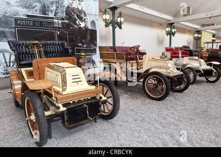De Dion Bouton, Biplace Type S, built in 1902, France, Collection Schlumpf, Cité de l'Automobile, Musée National - Stock Photo