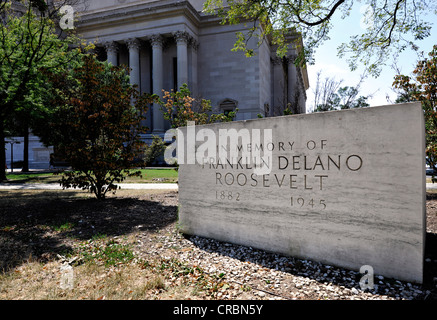 Franklin Delano Roosevelt Memorial, Washington DC, District of Columbia, USA, PublicGround - Stock Photo