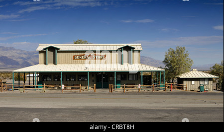 General store, Stovepipe Wells, Death Valley National Park, Mojave Desert, California, United States of America - Stock Photo