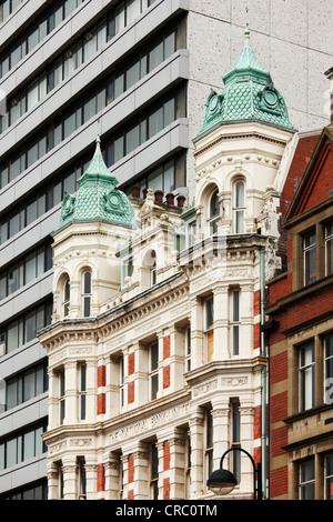 The National Bank, High Street, Belfast, Northern Ireland, Ireland, Great Britain, Europe, PublicGround - Stock Photo