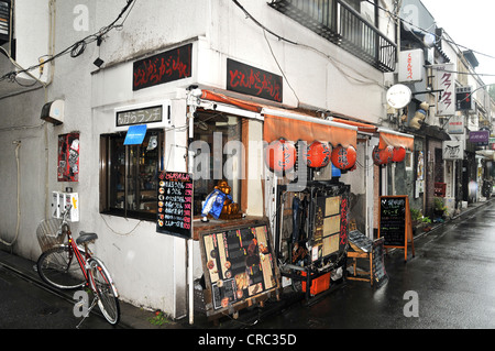 typical restaurant Tokyo Japan Asia Asia - Stock Photo