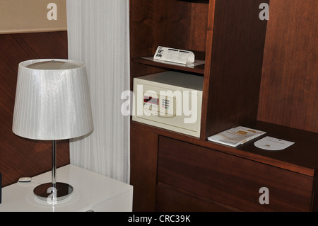 safety box in hotel roon Seoul South Korea - Stock Photo