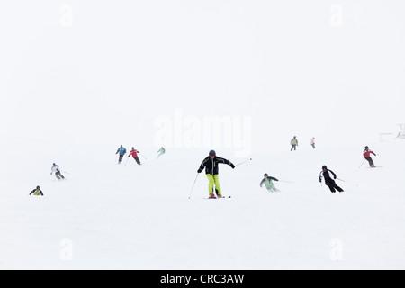 Hochkar ski resort near Goestling an der Ybbs, Mostviertel, Must Quarter, Lower Austria, Austria, Europe - Stock Photo