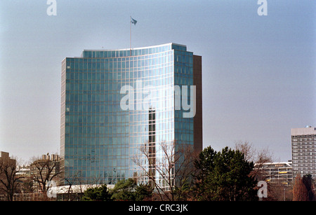 Headquarters of WIPO (World Intellectual Property Organisation) in Geneva, Switzerland - Stock Photo