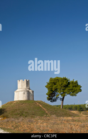 St. Nicholas church, Nin, Croatia - Stock Photo