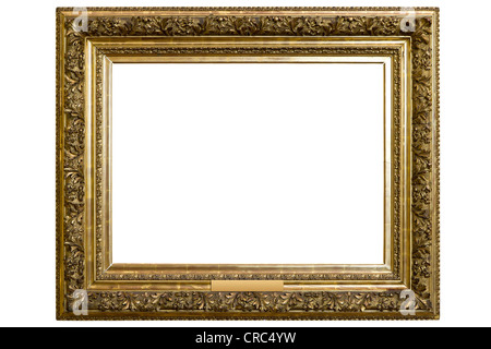 Gilded picture frame - Stock Photo
