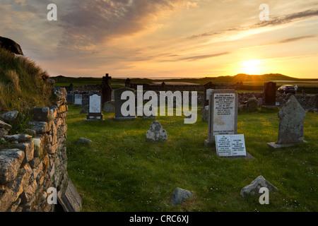 Medieval burial ground - Stock Photo