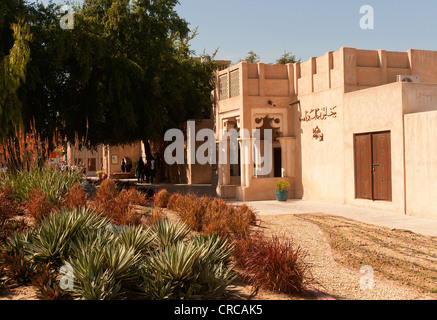 Elk206-2367 United Arab Emirates, Dubai, Bastakiya quarter, traditional architecture - Stock Photo