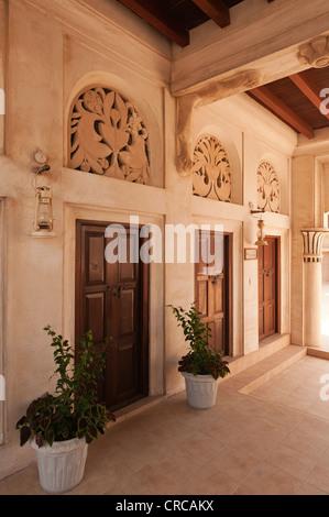 Elk206-2402v United Arab Emirates, Dubai, Bastakiya quarter, Architectural  Heritage House -
