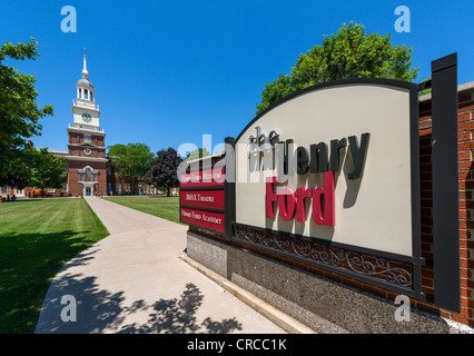 The Henry Ford Museum, Dearborn, Detroit, Michigan, USA - Stock Photo